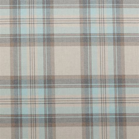 tartain curtains 100 cotton tartan check pastel plaid faux wool sofa