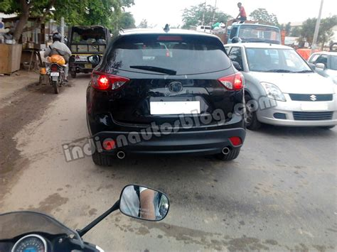 mazda cars india another mazda cx 5 suv mule spotted in india
