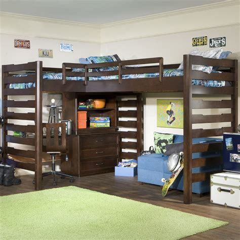 corner loft bed studio dual corner loft bed modern kids beds by