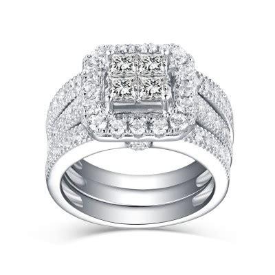 bridal rings cheap wedding rings for her him lajerrio