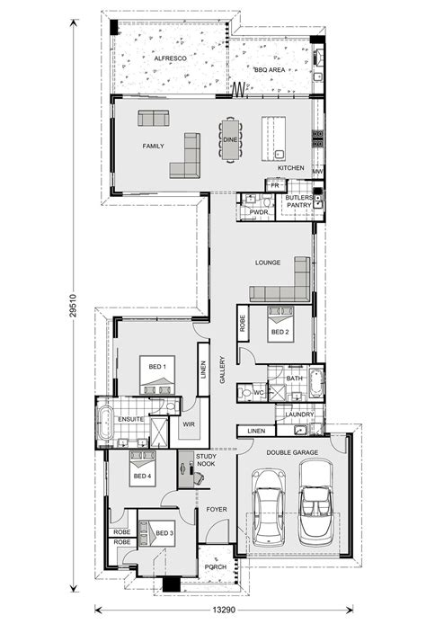 floor plan builder stillwater 264 our designs new south wales builder gj gardner homes new south wales house
