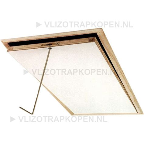 uitschuifbare traphek fakro lwk 280 3 komfort vlizotrap 60x130 cm