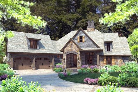 french cottage house plans cottage craftsman french country house plan 75134