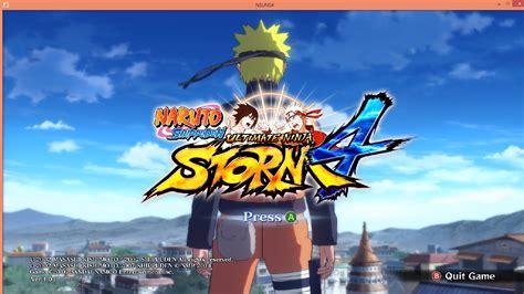 tutorial naruto ultimate ninja storm 2 cara bermain naruto shippuden ultimate ninja storm 4