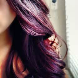 purple hair color hair