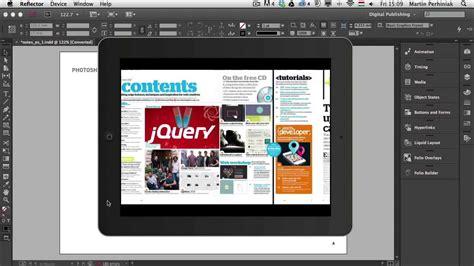 indesign tutorial for digital publishing digital publishing with indesign cc types of interactive