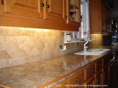 kitchen with tile backsplash all about home decoration furniture kitchen backsplash