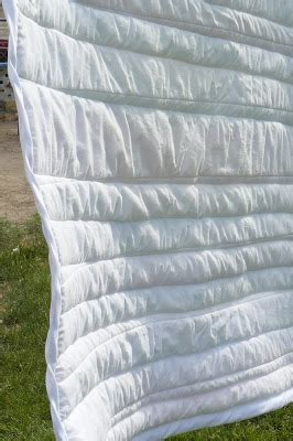 small fry & co. : easy cheaters method striped baby quilt