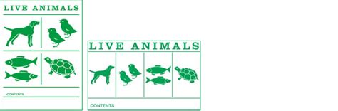 printable live animal stickers welcome to asiana cargo