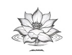 Lotus Pencil Sketch Lotus Flower By Muddygreen On Deviantart