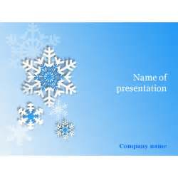 Snowflake Powerpoint Template snowflakes powerpoint template background for presentation