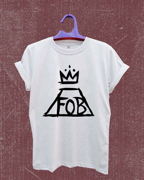 Boy 2 Sides Tshirt Size Xl fall out boy logo t shirt size s m l xl 2xl