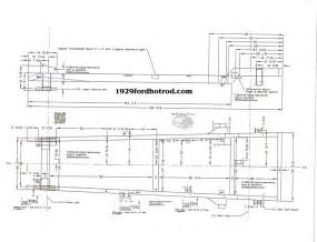 A Frame Blueprints below are a few sample drawing of the chassis frame using the 1984