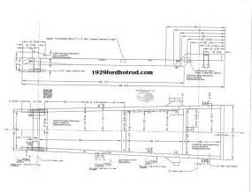 hot rod chassis plans 1929fordhotrod com dick allen blueprint frames