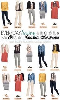 capsule wardrobe everyday savvy