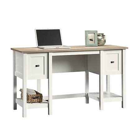sauder cottage road desk sauder cottage road collection wood desk white by
