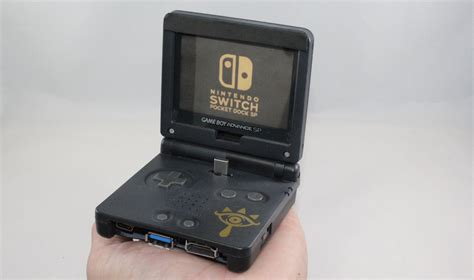 gameboy micro modifications modder turns game boy advance sp into functional nintendo