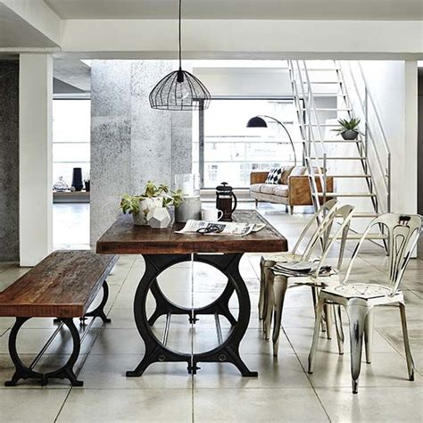 25 best ideas about industrial dining rooms on
