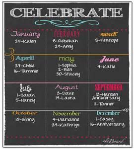 yearly birthday calendar template birthday calendar calendar template free premium