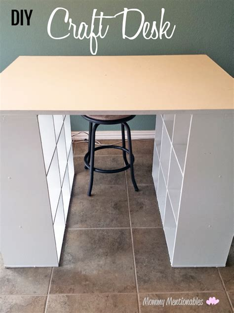 crafts desk diy craft table how to make a craft desk with cubicles