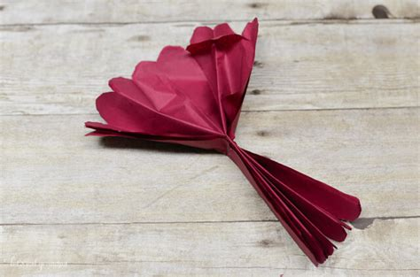 How To Make Crinkle Paper Flowers - how to make tissue paper flowers four ways hey let s