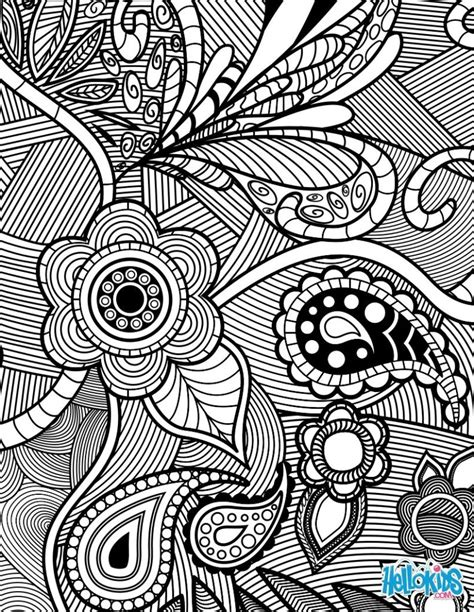 coloring pages for adults abstract flowers coloring pages coloring pages flowers paisley
