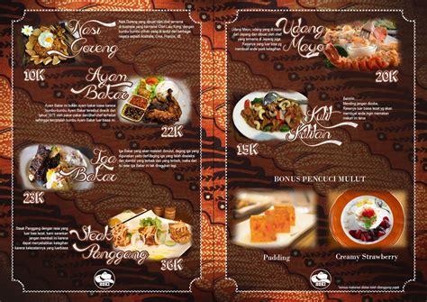 design menu makanan unik mau buat daftar menu makanan dan minuman untuk restoran