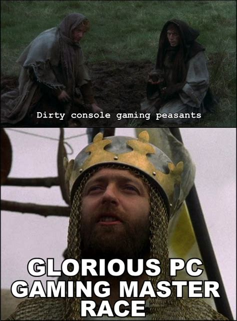 Pc Gamer Meme - image 509257 the glorious pc gaming master race know your meme
