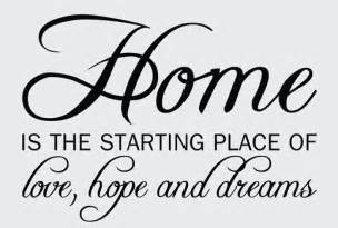 Wall Stickers Words And Phrases home quotes amp sayings wall decals amp stickers home love