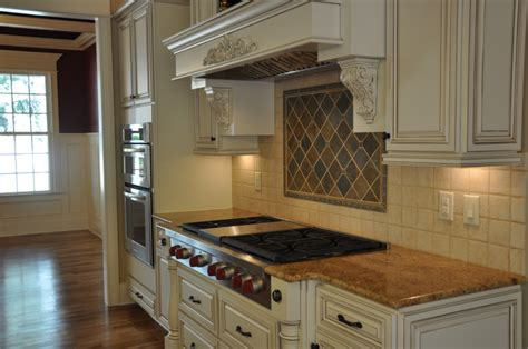 Antique White Glazed Kitchen Cabinets Rta Kitchen Cabinets Cream Painted Cabinets Crm Sl
