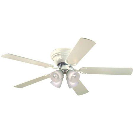 walmart ceiling fans with lights westinghouse 7871500 52 quot white 5 blade reversible ceiling