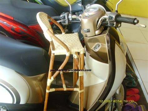 Kursi Rotan Buat Motor kursi bonceng anak yudibatang