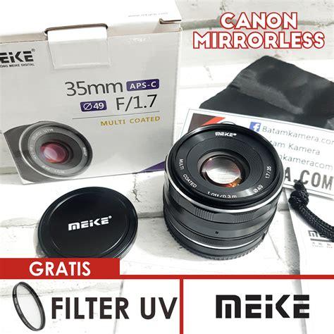Lensa Meike 35mm F 1 7 lensa meike 35mm f1 7 for canon mirrorless eos m