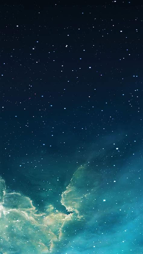 wallpaper galaxy ios 8 wallpaper galaxy blue 7 starry star sky iphone 6 plus
