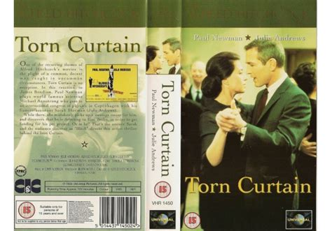 torn curtain cast torn curtain 1966 on cic video united kingdom vhs videotape