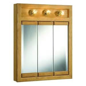 home depot medicine cabinets with lights design house richland 24 in x 30 in 3 light tri view