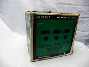 vintage igloo heater canadian tire ctc catalytic outdoor