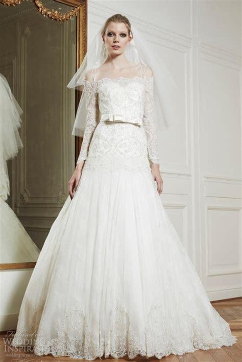 Wedding Dresses Lacy by Shoulder Wedding Dress Fashion