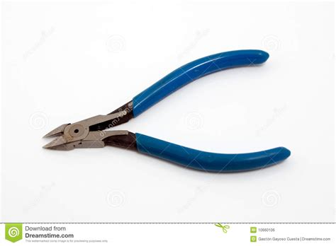 blue wire cutter royalty free stock image image 10660106