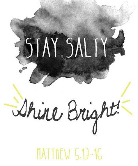 salt and light bible matthew 5 13 16 salt and light 13 you are the salt of the