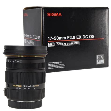 Sigma 17 50mm F2 8 Ex Dc Os Hsm Black Lens For Nikon sigma 17 50mm f 2 8 ex dc os hsm zoom lens for canon dslrs