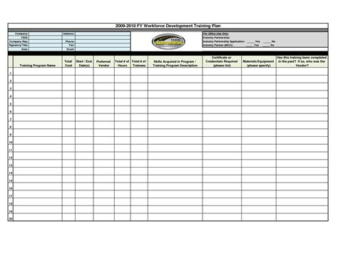 workout plan template program template images