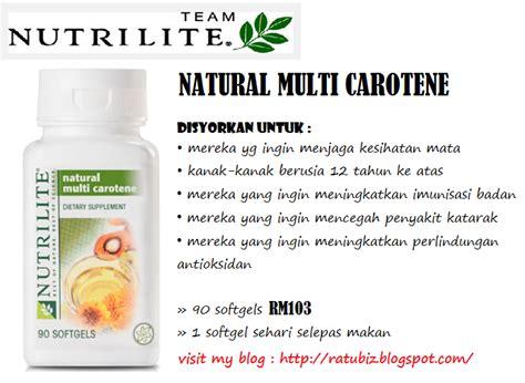 Nutrilite Multi Carotene produk kesihatan dan kecantikan anda amway products
