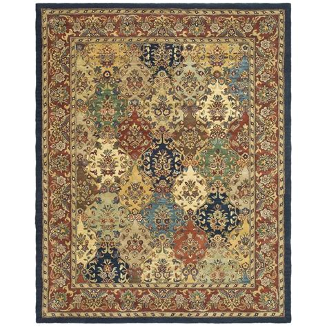 9 x 12 area rug shop safavieh heritage abaya burgundy indoor handcrafted area rug common 9 x 12