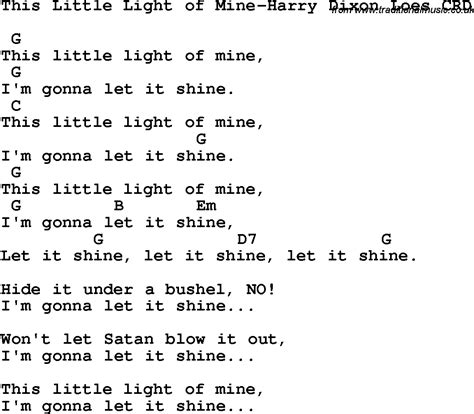 this light of mine lyrics gospel christian chlidrens song this light of mine harry