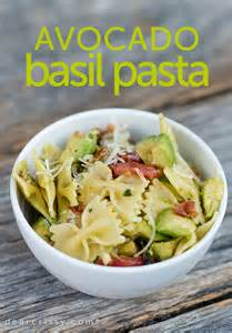 avocado basil pasta recipe