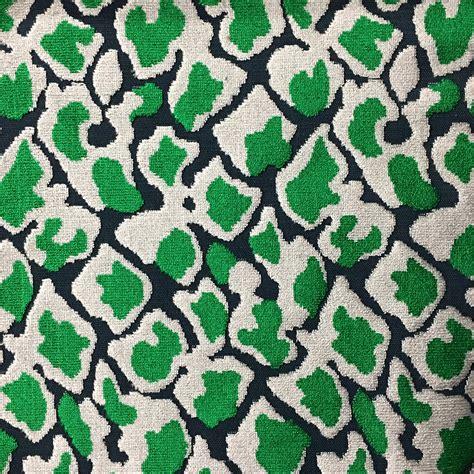 Animal Print Velvet Upholstery Fabric by Velvet Upholstery Fabric Emerald Leopard Print