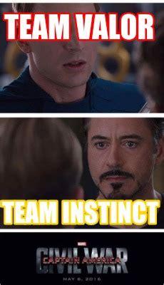 Team Valor Memes - meme creator team valor team instinct meme generator at memecreator org