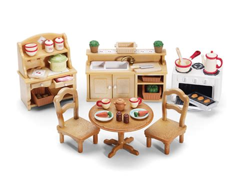 Calico Critters Kitchen by Deluxe Kitchen Set Calico Critters