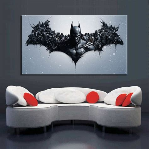 cuadros abstractos batman  poster print  canvas